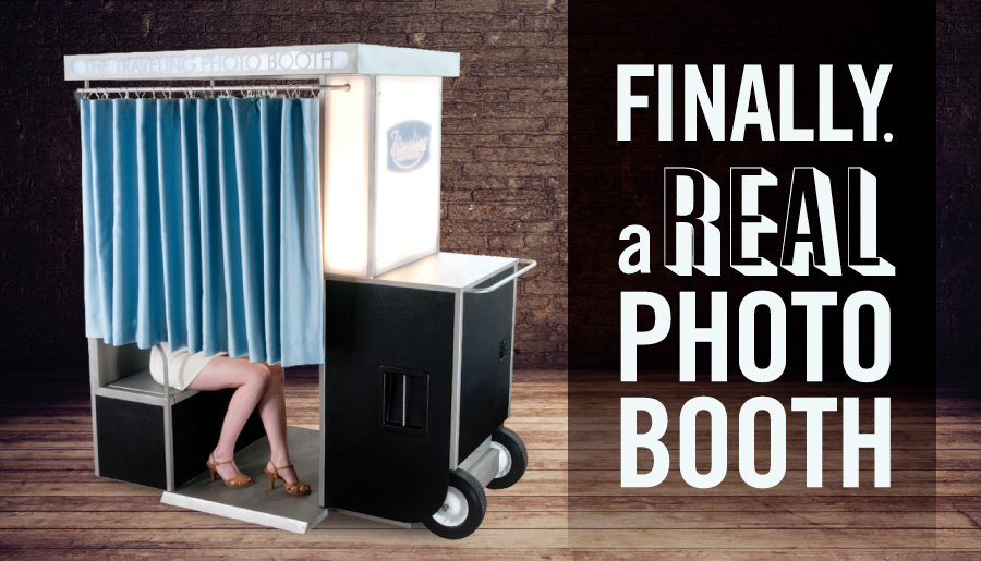 Finally. A Real Photo Booth.