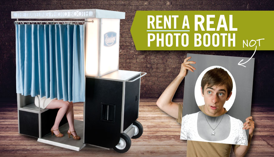 rent a real photo booth